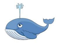 images clip art. Clipart whale swim