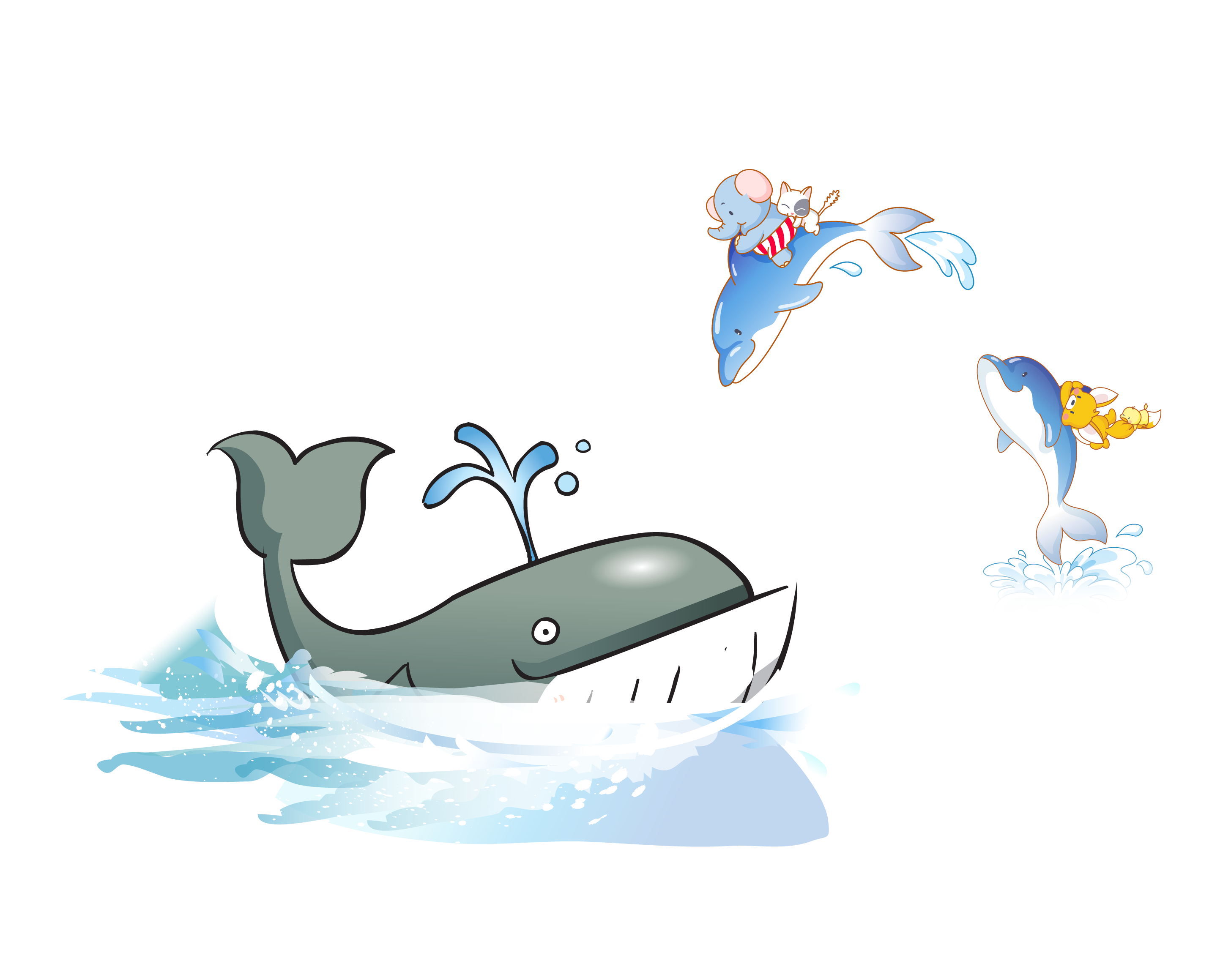 Sperm blue clip art. Clipart whale whale dolphin