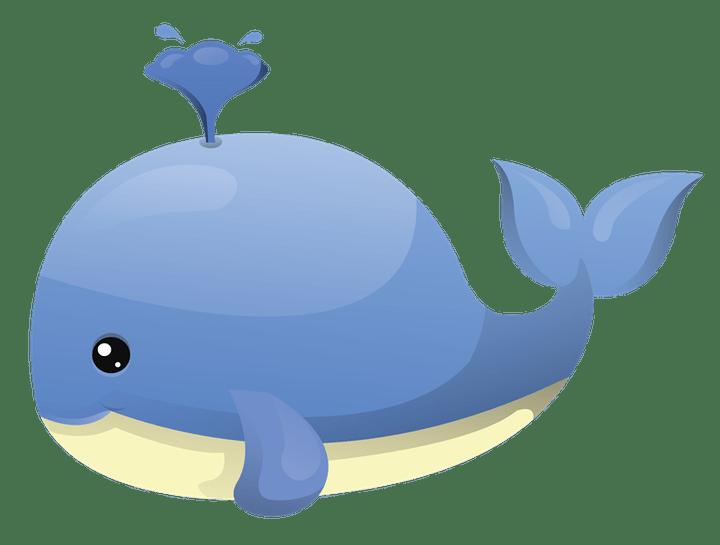Cartoon image secondtofirst com. Nautical clipart whale
