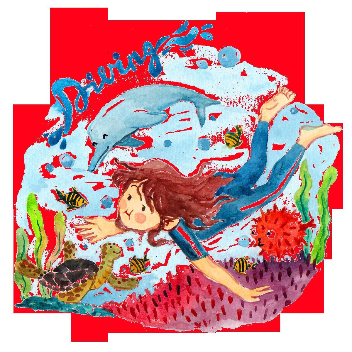 Child clip art children. Clipart whale whale swimming