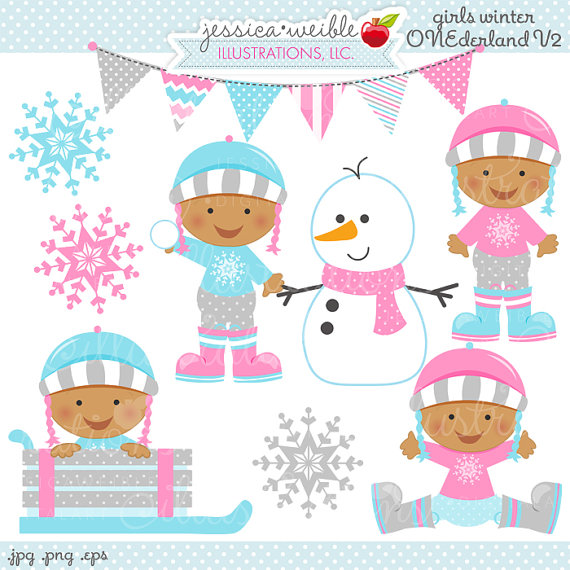 clipart winter baby