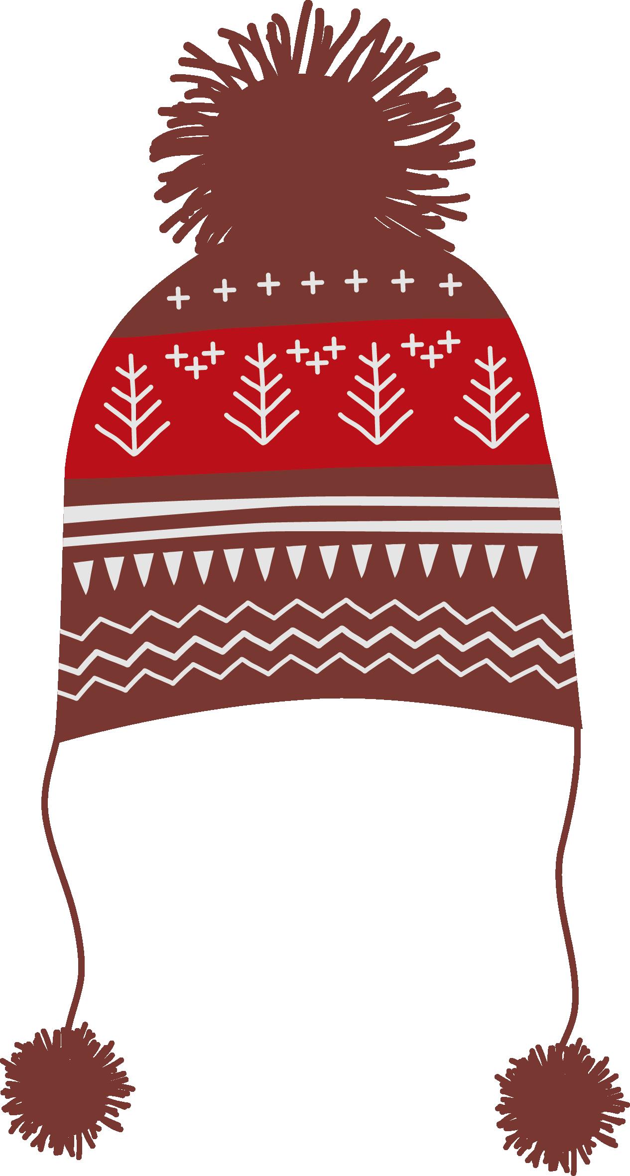 Clipart winter beanie. Knit cap hat clip