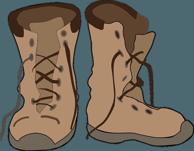 best waterproof snake. Winter clipart boot