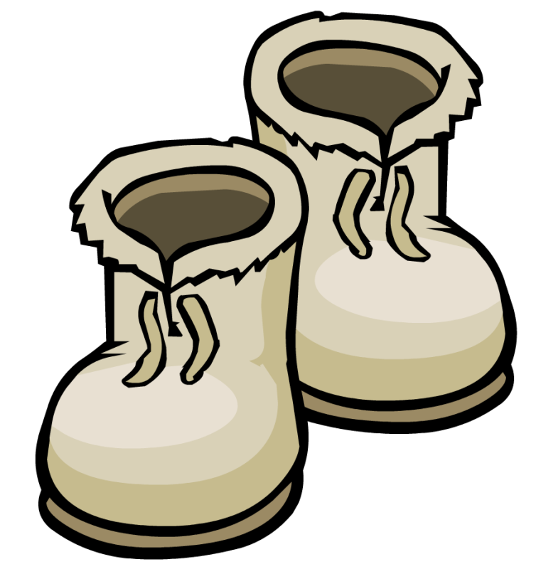 Snow boots ourclipart pin. Winter clipart boot