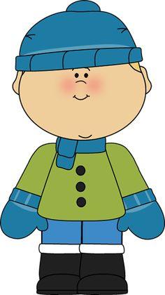 Winter clipart boy.  best clip art