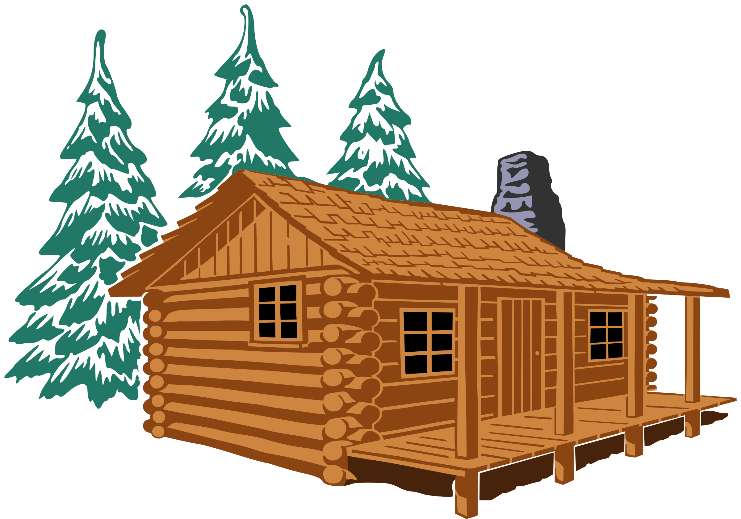 Hebrews remix icons png. Winter clipart log cabin