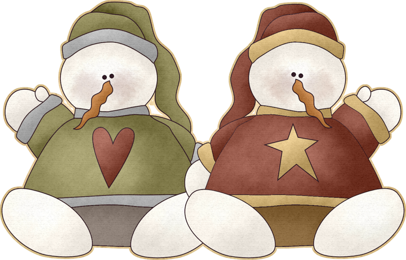 Winter clipart couple. Snowmen png snowman and