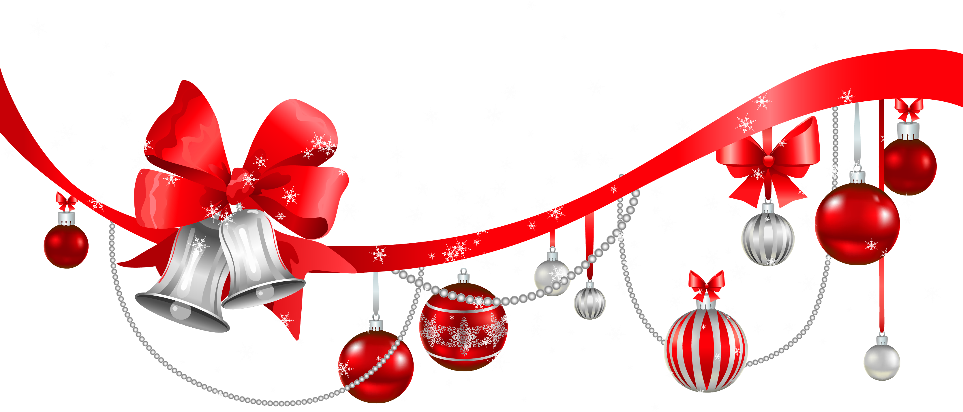 collection of decorations. Winter clipart decoration
