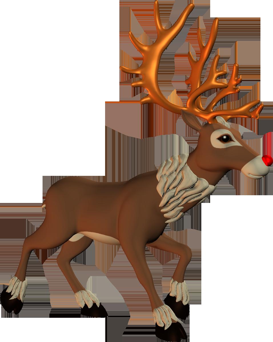 Christmas png and album. Elk clipart sambar deer