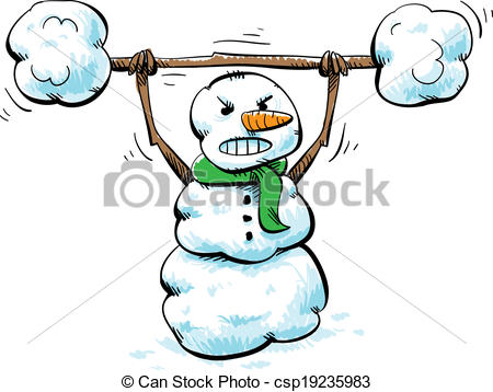 Winter clipart fitness.