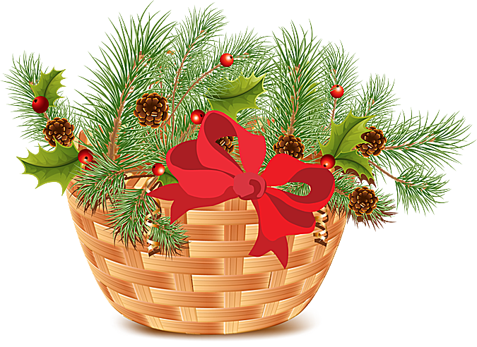 Clip art for the. Winter clipart greenery