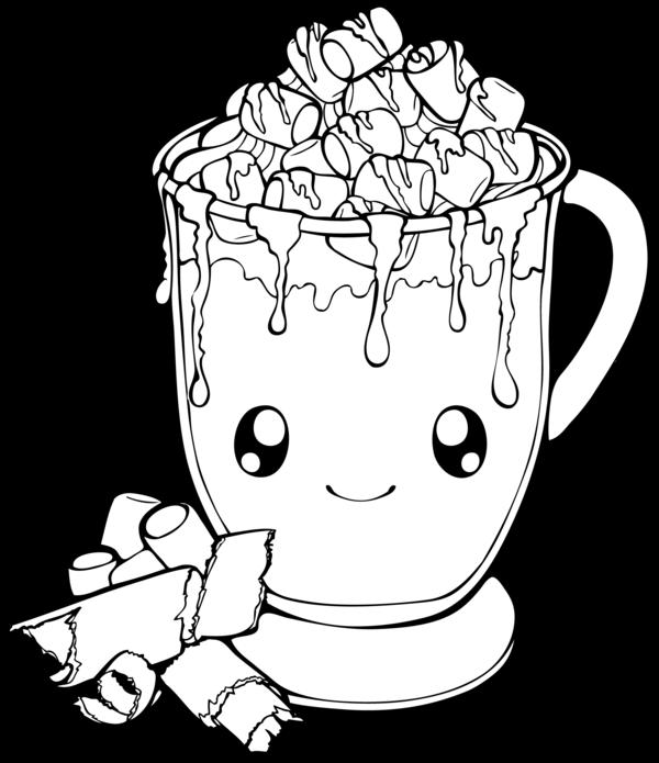 Chocolate drawing at getdrawings. Mug clipart hot coco