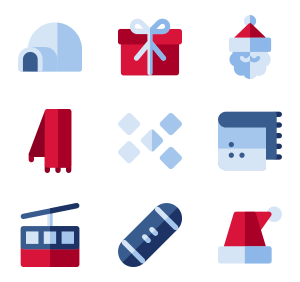 Winter clipart icon. Cold icons free vector