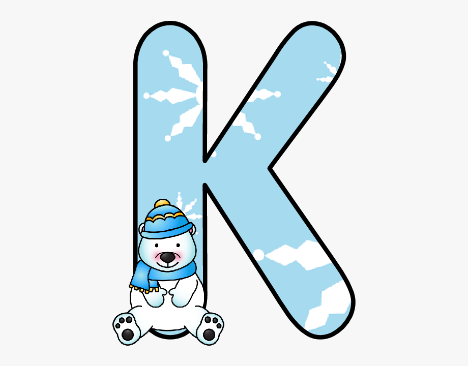 Winter clipart letter. Free cliparts on clipartwiki
