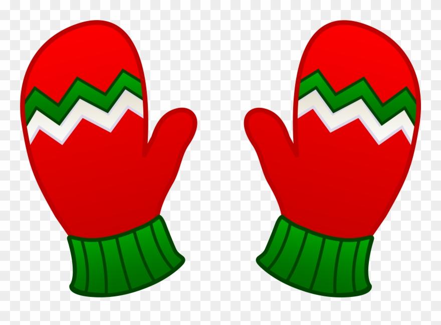 Free clip art christmas. Mittens clipart kid