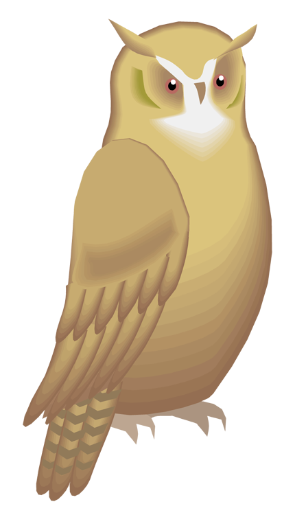 Clipart winter owl. Free serious
