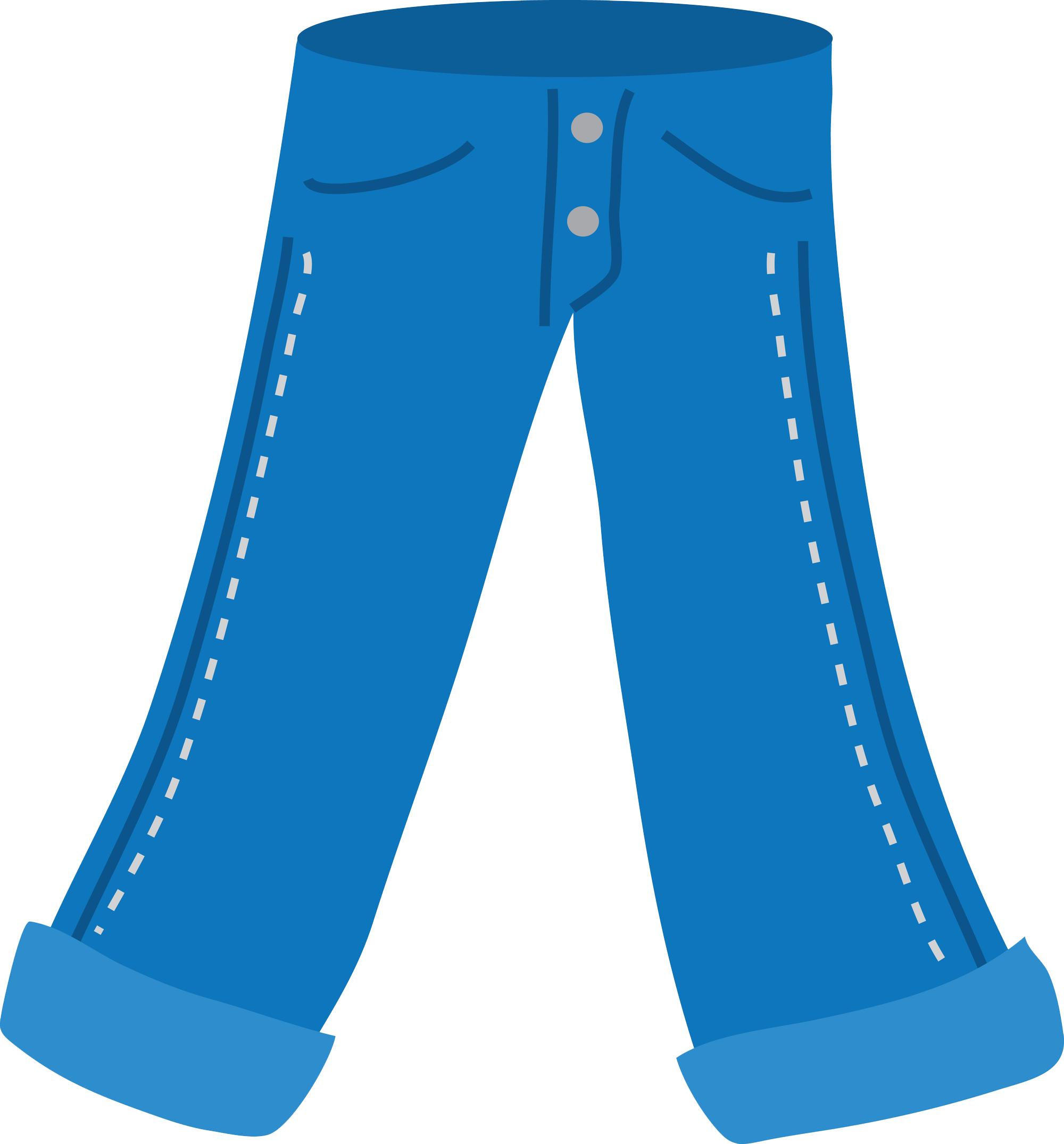 Winter clipart pants.  articles of clothing