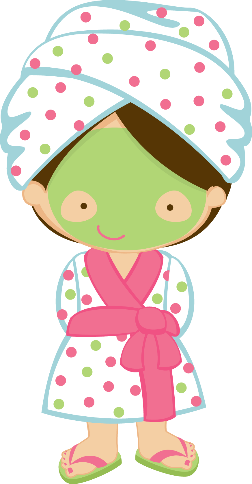 Holidays clipart pajama party. Zwd spaflipflops spagirl png