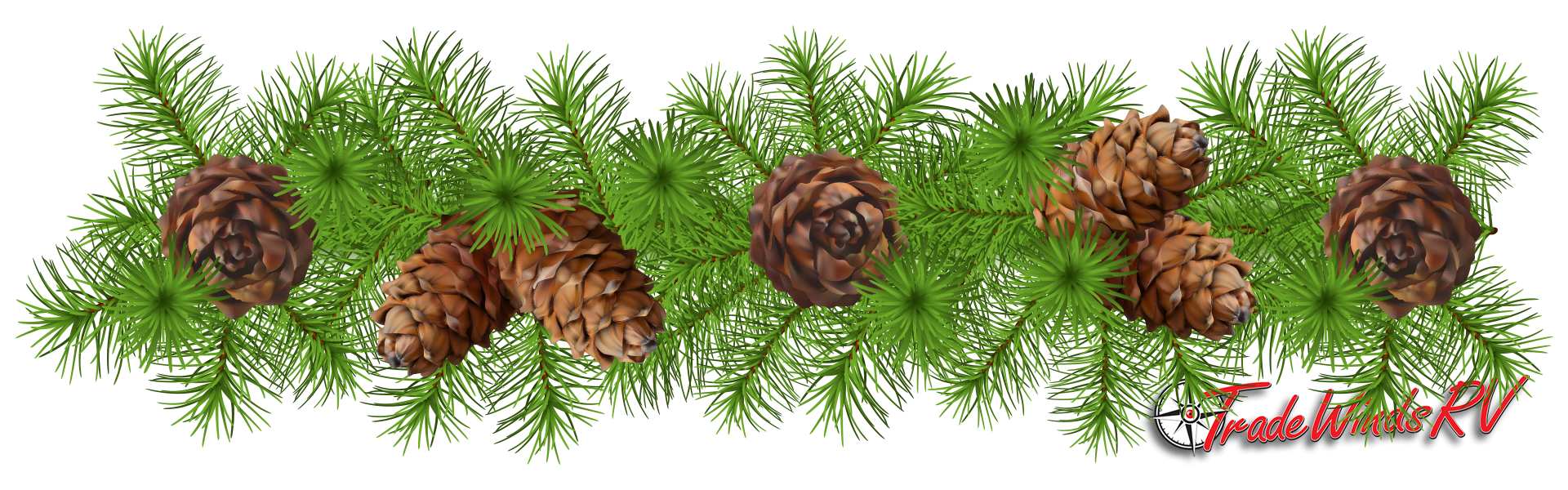Pinecone clipart eastern white pine. Woodland decorations diy garland