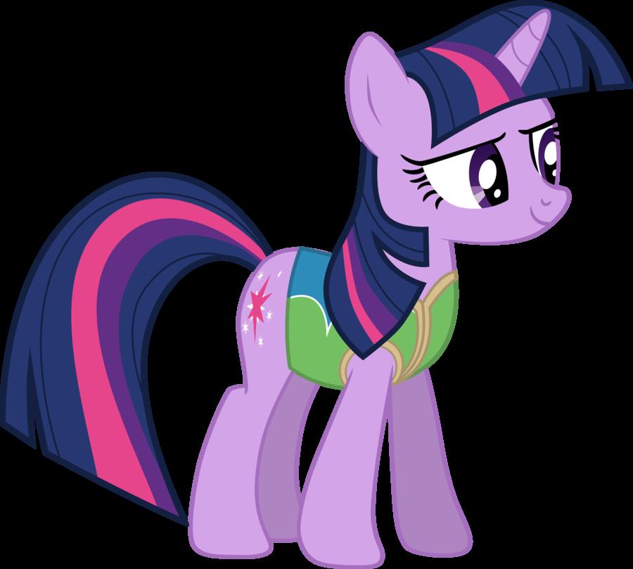 Wrap up twilight sparkle. Winter clipart horse
