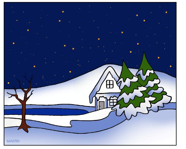 Free cliparts download clip. Winter clipart scene