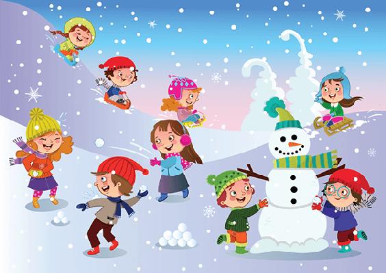 Winter clipart season. Fun lesson plan