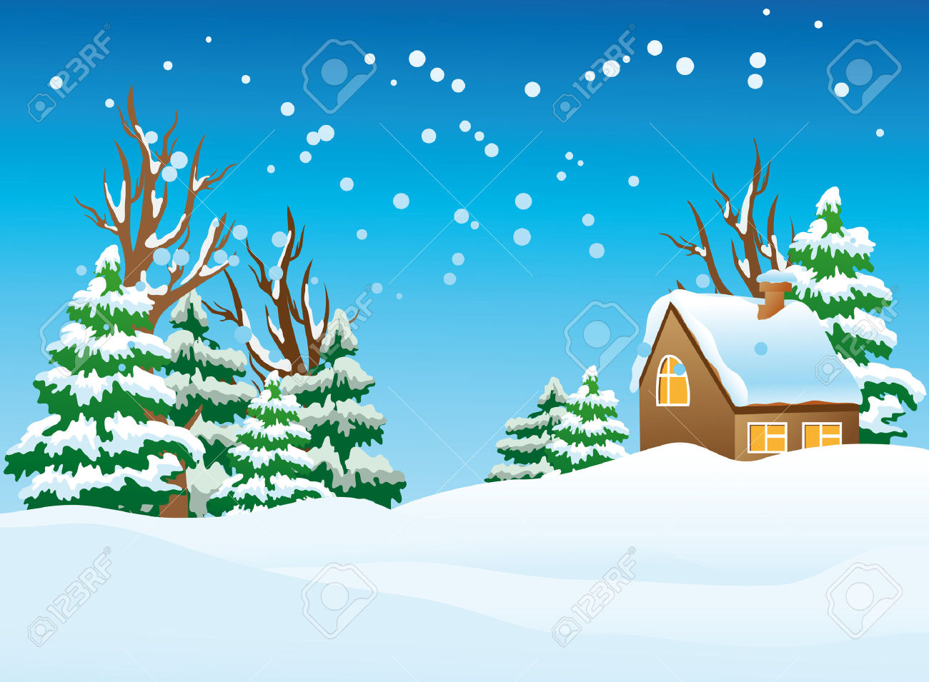 Free snow cliparts download. Winter clipart scenery