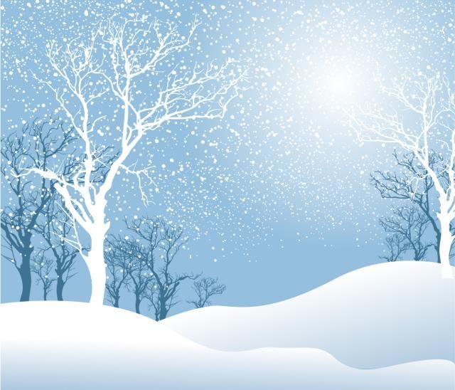 Winter clipart landscape. Snow white through the