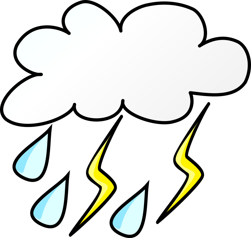Storm nice pencil and. Clipart winter weather