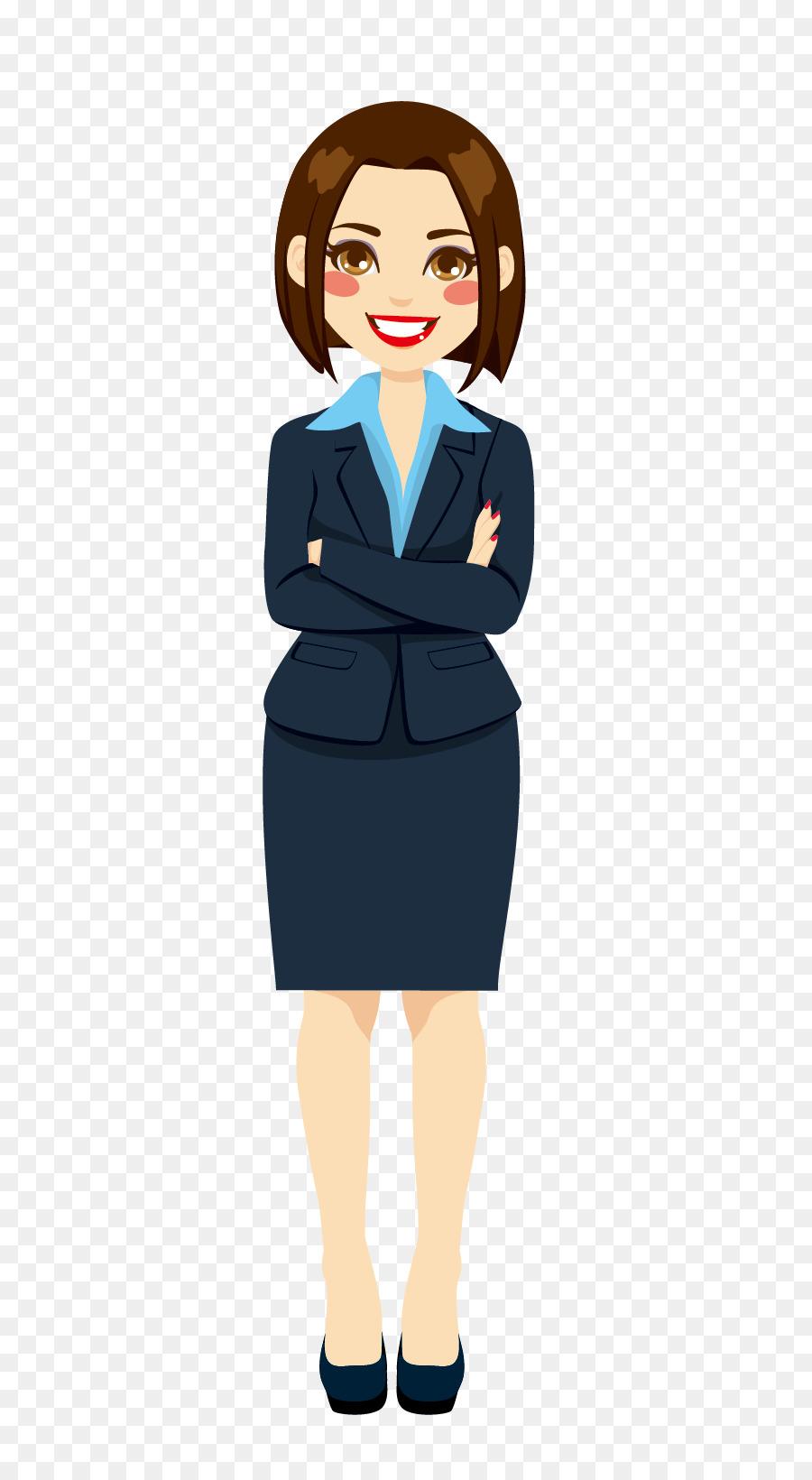 Clipart woman. Clip art business girl