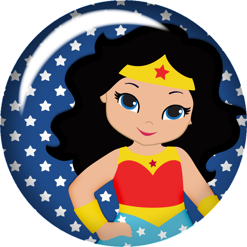 Wonder woman baby oh. Fiesta clipart themed
