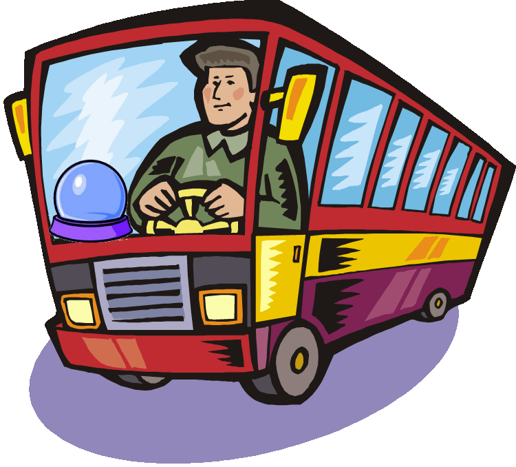 Crystal ball the mad. Clipart woman bus driver