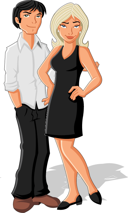 The fearless code just. Lady clipart confident