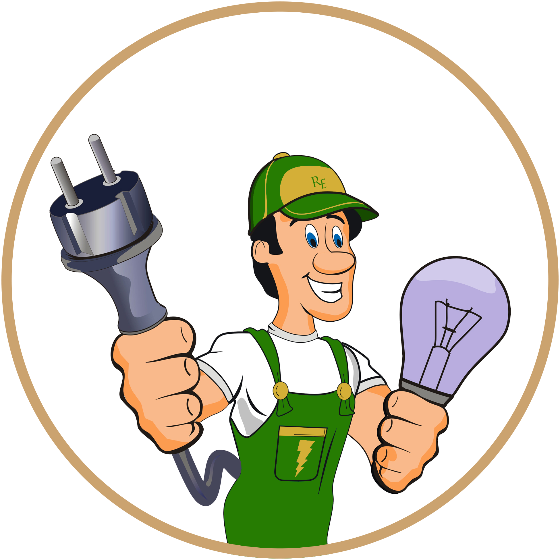 Electrician clipart female. Neat design electricity electrical