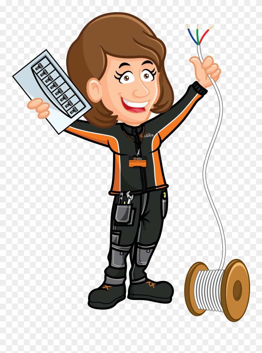 Engineer clipart electrical engineer.  trades offers plumbing
