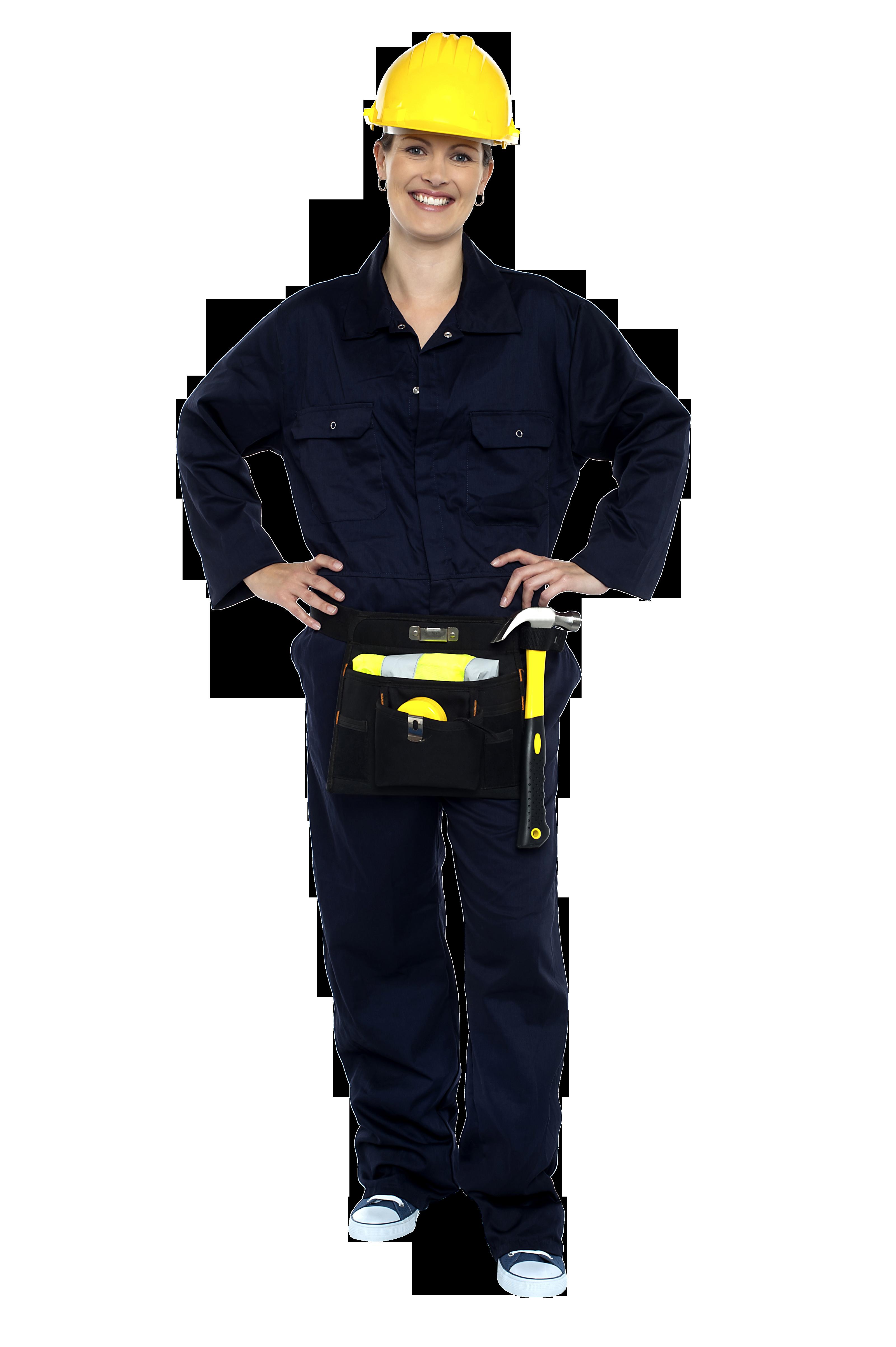 Engineer clipart woman engineer. Women worker png image