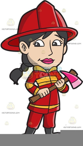 Woman free images at. Firefighter clipart lady