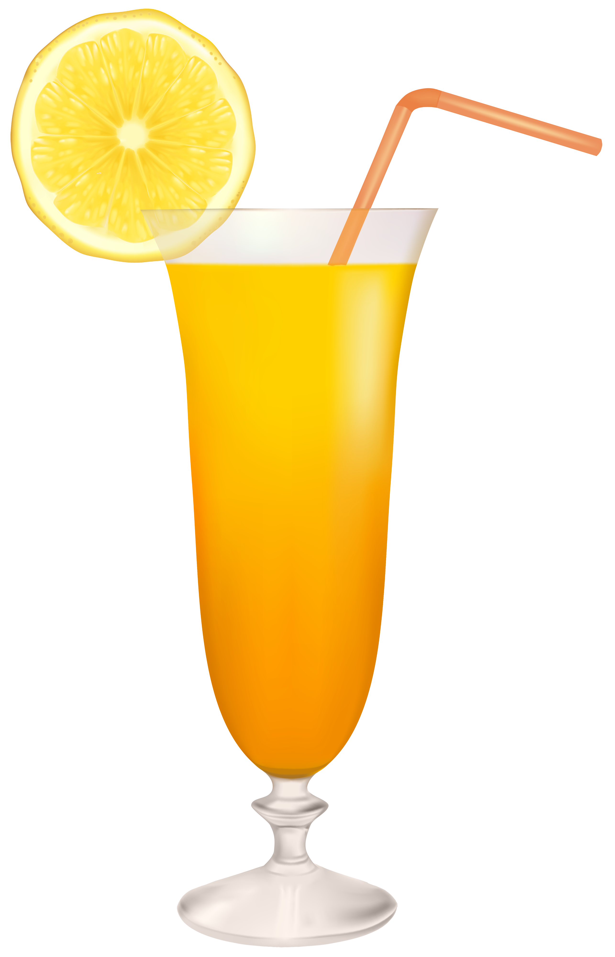 Glass lemon frames illustrations. Cocktail clipart juice