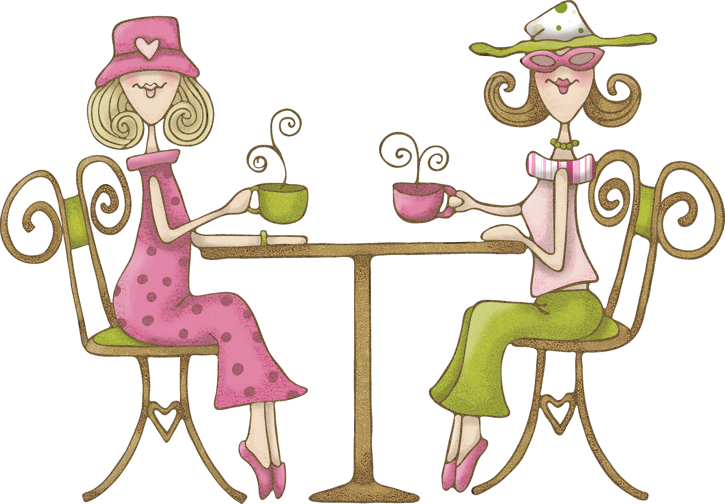 Women tuesday club results. Golfing clipart lady