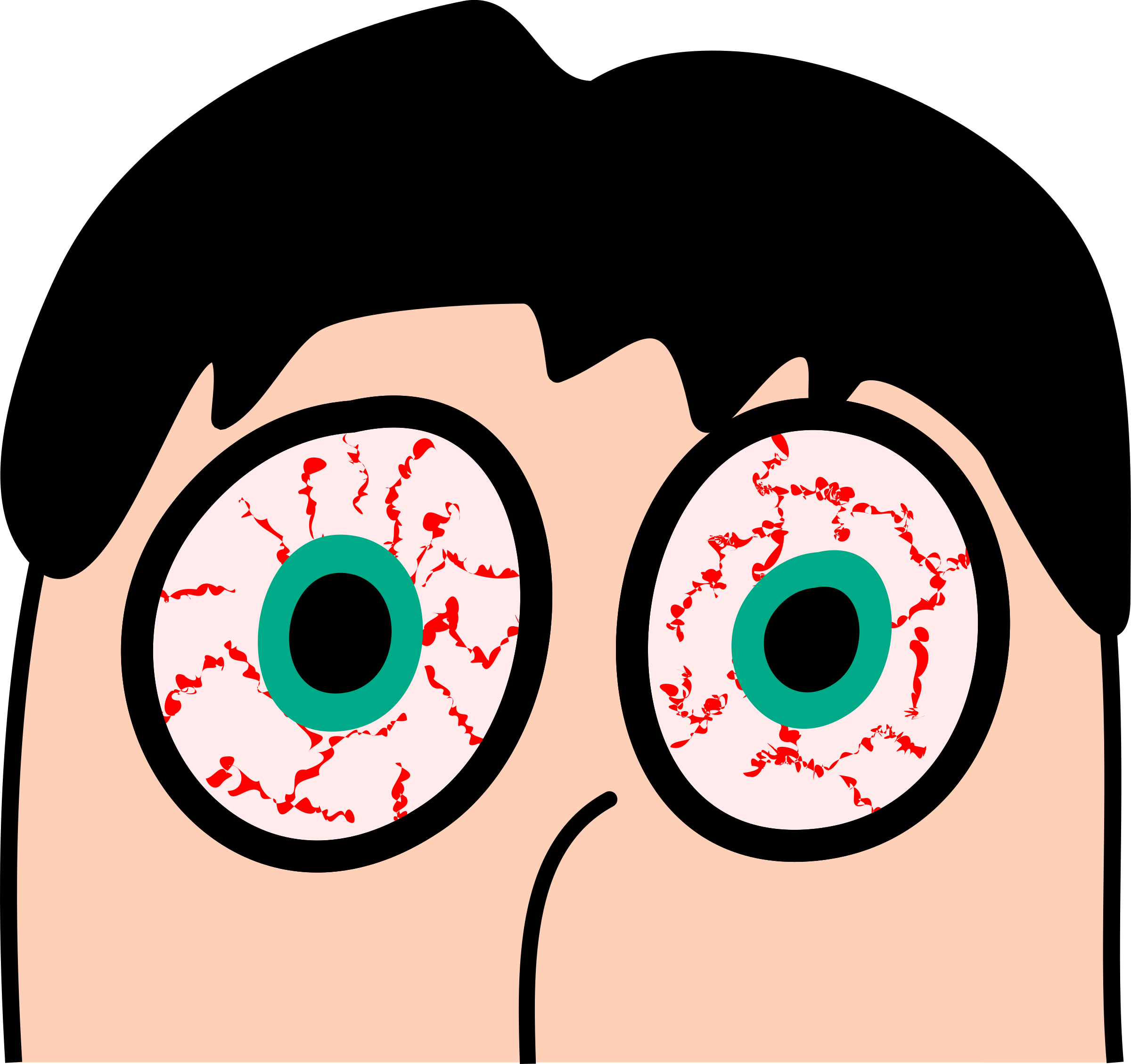 Eyeball clipart bloody.  collection of itchy