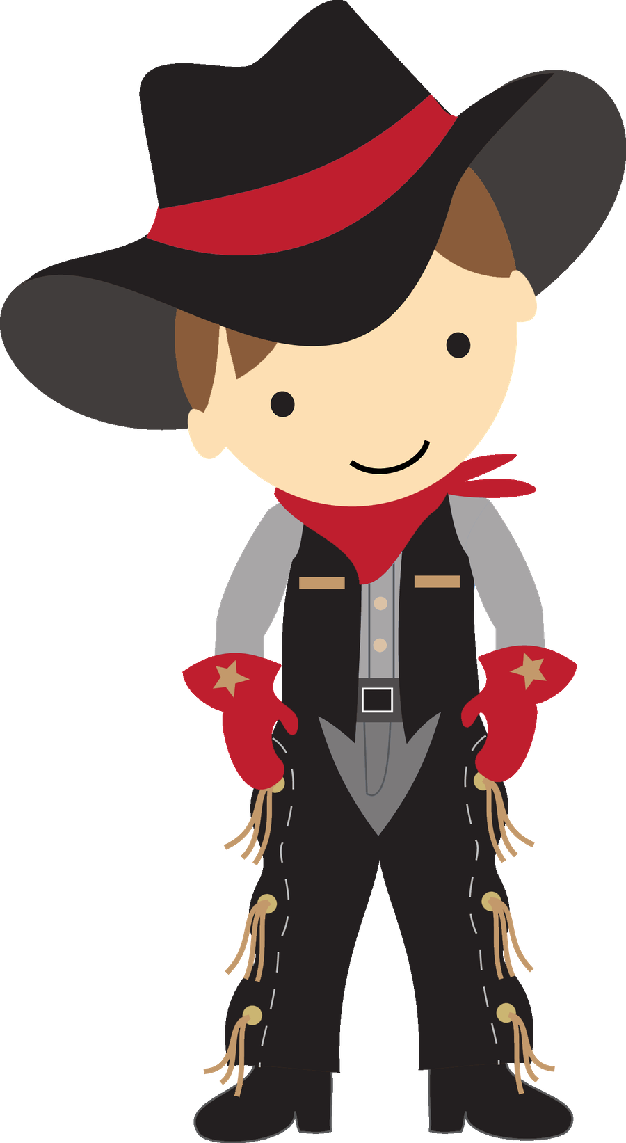 Cowboy pencil and in. Clipart woman kid