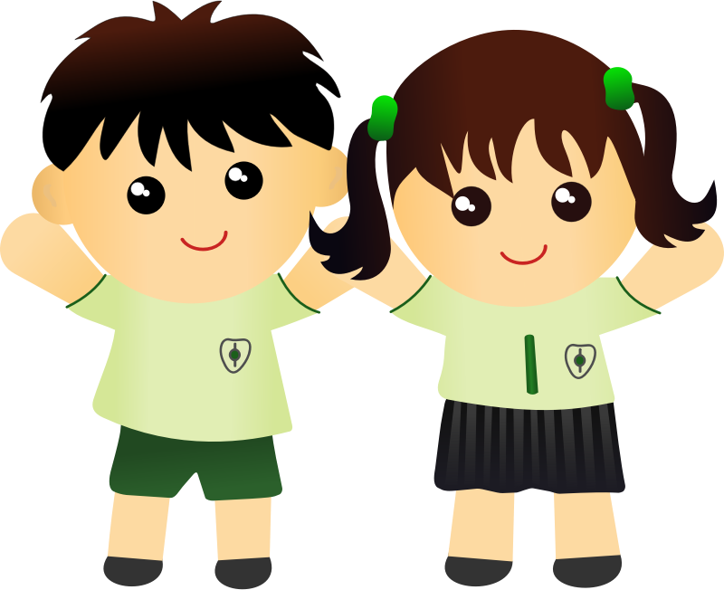 Clipart woman kid. Boy and girl png