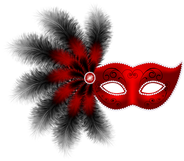 Feather mask png clip. Purim clipart carnival