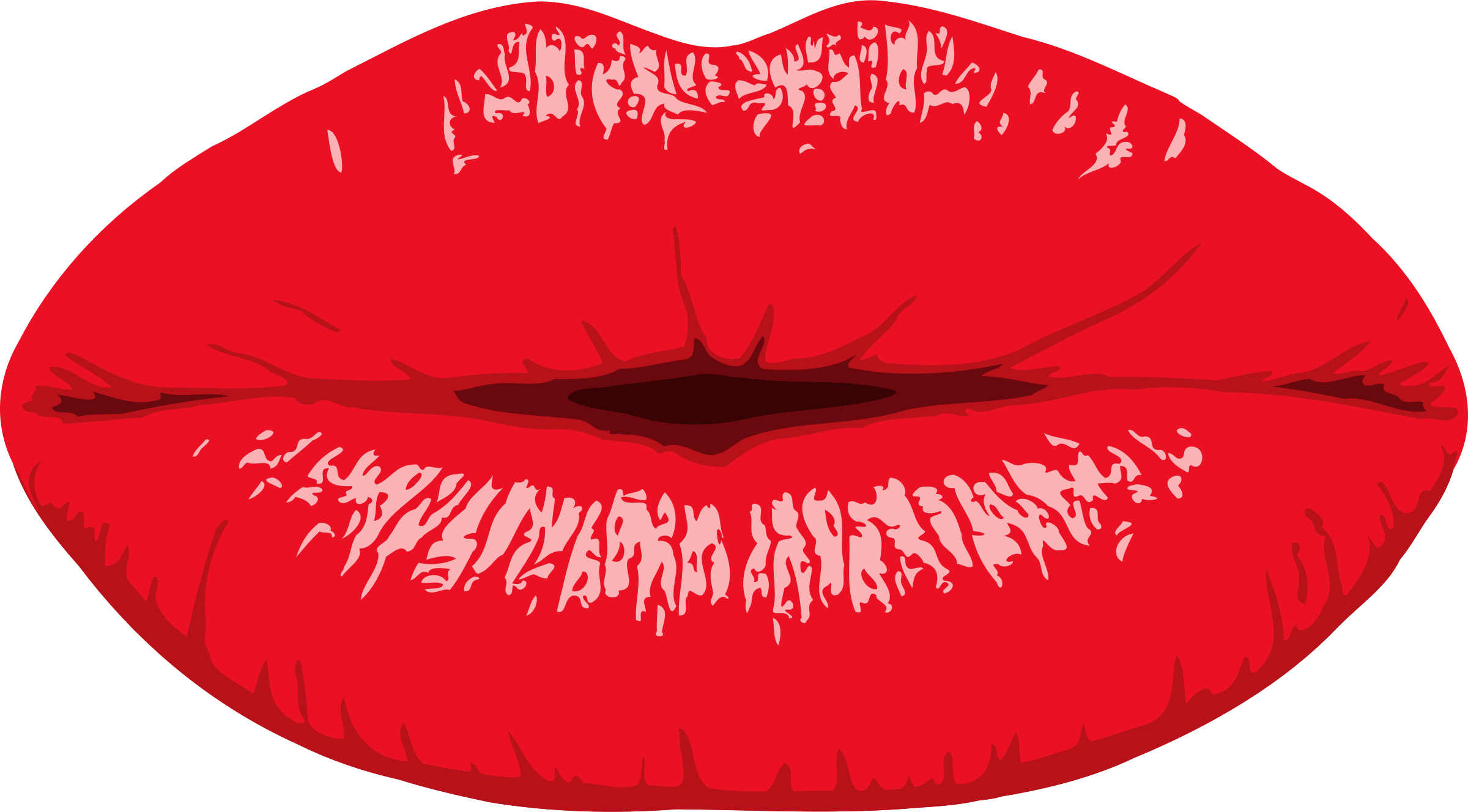 Clipart woman mouth. Lips big image png
