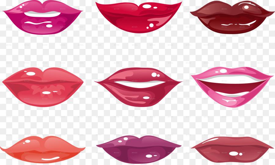 Cartoon lipstick transparent . Clipart woman mouth
