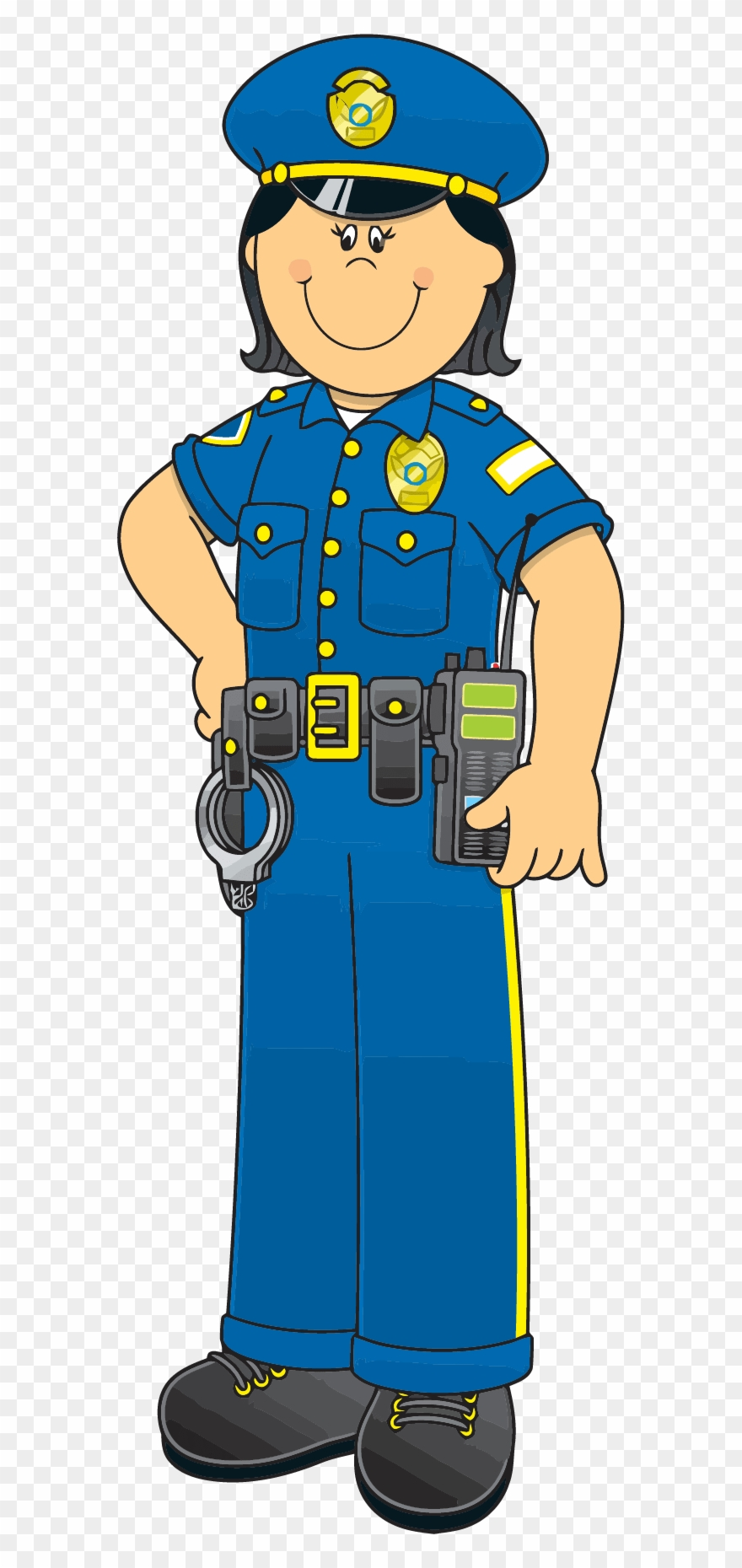 Female police png download. Cop clipart peace officer