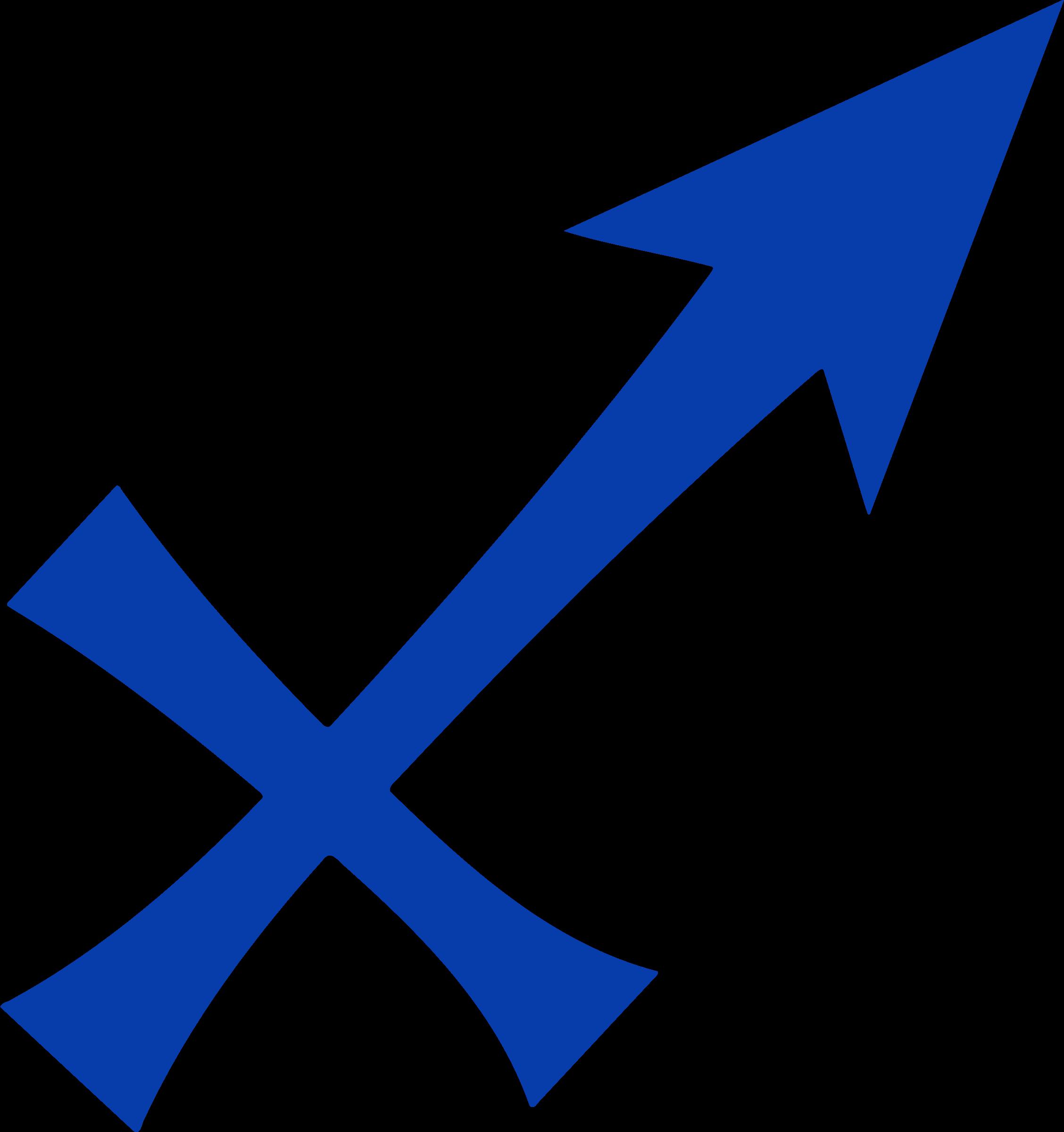 Clipart woman sagittarius. Logos symbol