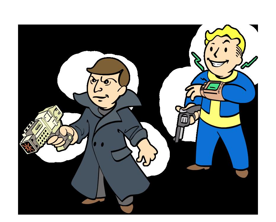Hunted fallout wiki fandom. Hunter clipart gunner