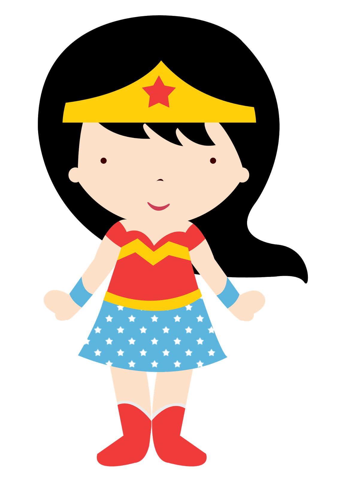 Plan clipart standard. Wonder woman baby camp