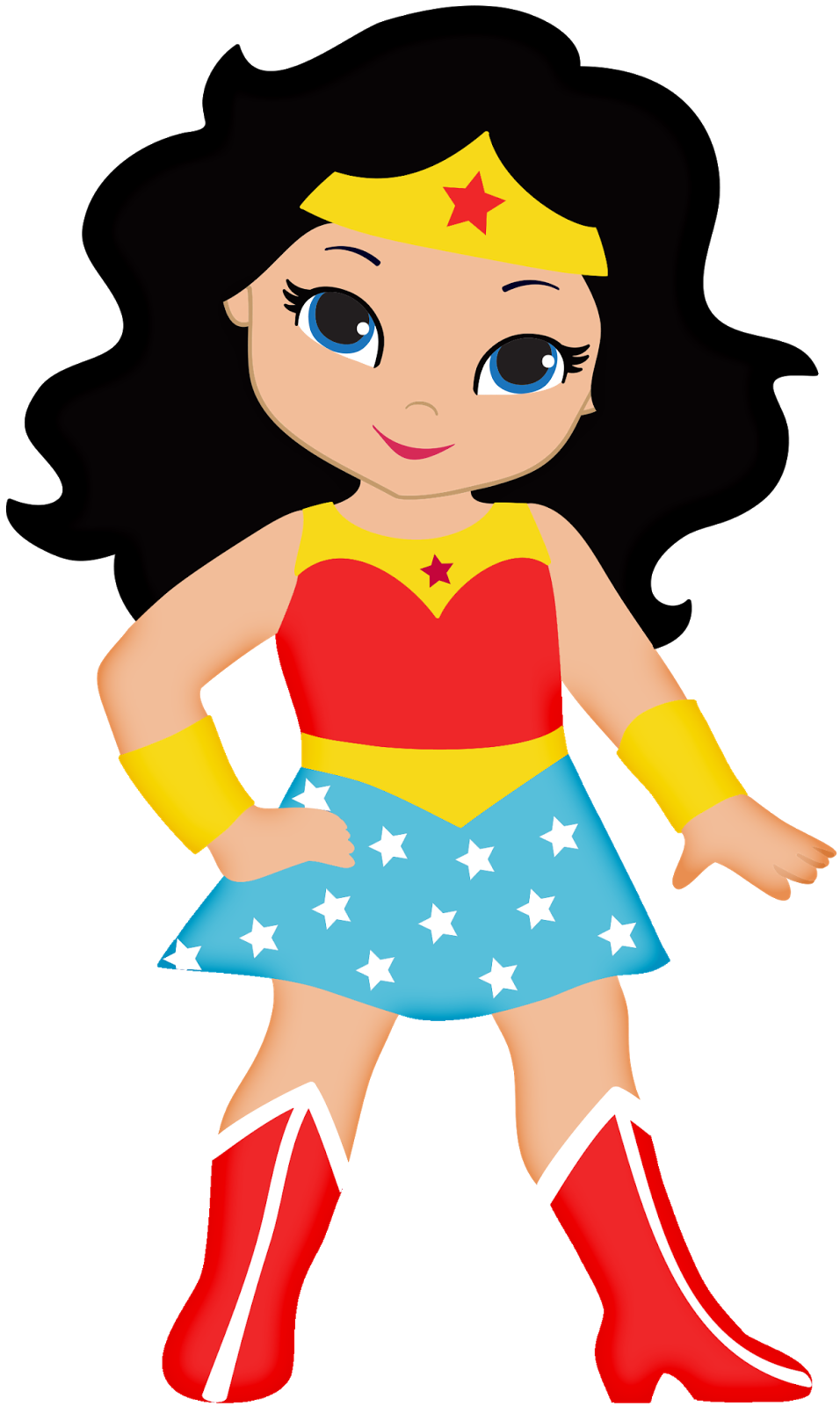 Fly clipart kid. Super woman cartoon superwoman